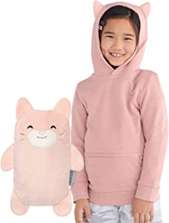 Cubcoats Kali The Kitty 2-in-1 Transforming Pullover Hoodie & Soft Plushie