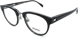 Starck Eyes Mikli Rx Eyeglasses Frames SH3043 0001 48-21-145 Brown Crystal Blue