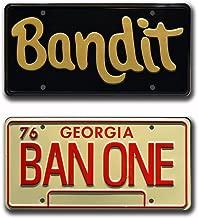 Celebrity Machines Smokey and The Bandit | Burt Reynolds | Metal Stamped License Plates