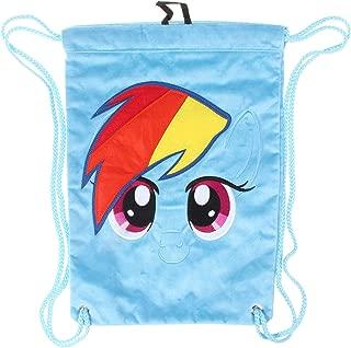 My Little Pony Rainbow Dash Sling Gym Drawstring Bag Backpack