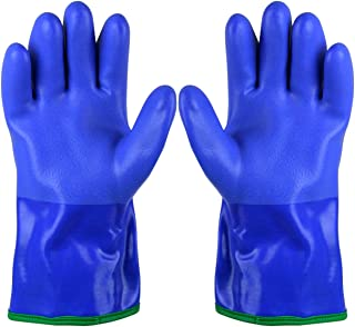 Showa Atlas 490 Triple Dipped PVC Gloves with Insulating Acrylic Fleece Liner - Large