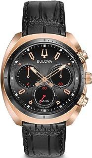 Bulova - Reloj Cronógrafo para Hombre de Cuarzo con Correa en Cuero 98A156