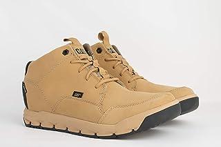 كاتربيلار حذاء للرجال - بيج، 12 US