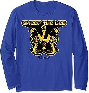 Karate Kid Sweep The Leg Cobra Logo 長袖Tシャツ