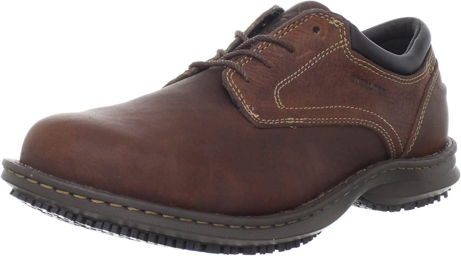Timberland PRO 85590 Men's Gladstone ESD Oxford Shoe Brown 5 W US