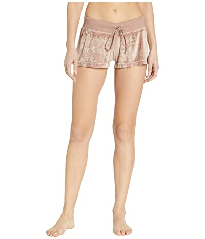 Hard Tail Shimmer Shorts (Mauve) Women