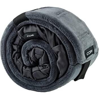 CORI Travel Pillow - World's 1st Customizable Memory Foam Travel Neck Pillow That ADAPTS to You for The Best Support, Comfort & Portability (Graphite Grey)