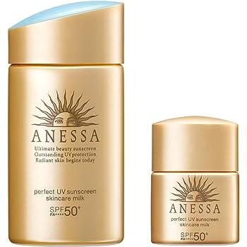 ANESSA(アネッサ) パーフェクトUV スキンケアミルク a トライアルセット 日焼け止め さわやかなシトラスソープの香り 60mL+10mL