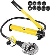 VEVOR 6T Hydraulische krimptang V12-28mm TH16-32mm perstang, V-vormige/TH-vormige pijptang, bekken 360