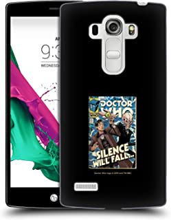 Official Doctor Who Matt Smith VS Silence Classic Comic Covers Hard Back Case Compatible for LG G4 Beat / G4s / G4 s / H735