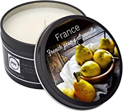 i miss home France Scented Candle - The Ideal Gift to Remind a Friend of Home, Smells Just Like a Divine French Patisserie...