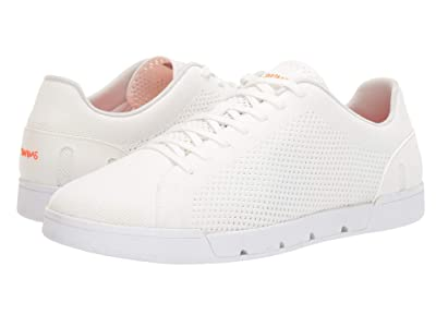 SWIMS Breeze Tennis Knit Sneakers (White) Men