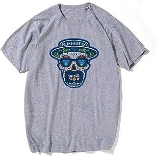 Breaking Bad Heisenberg T-Shirt Design Walter White Tshirt Cotton Men Fashion Los Pollos Hermanos Swag Tee Shirt