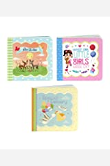 Little Bird Greetings: Special Delivery, Bless Child, Little Girls: Keepsake Greeting Card Board Book 3 Pack Board book