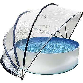 Festnight- Poolzelt Poolpartyzelt Pooldach Gartenpavillon
