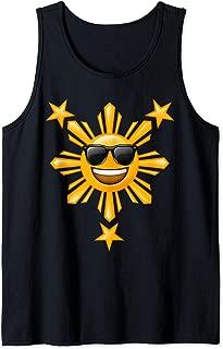 Philippine Flag Shirts | Happy Sun Filipino Gifts Tank Top