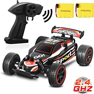 Blexy RC Truck 1/18 Radio Controlled Car 2.4Ghz 4WD Off-Road Rock Climber Stunt Racing Electric Vehicle Toy for Kids