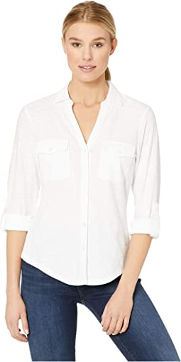 Arden Long Sleeve Camp Shirt