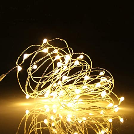 10M 100 LED Fairy String Lights Waterproof Christmas Outdoor Home Decor Plug In