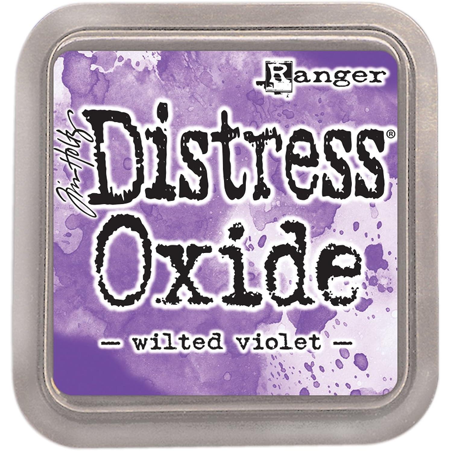 Ranger Ink Pad Wilted Violet THoltz Distress Oxides WViolet qfisksxtbqli
