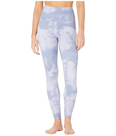 Beyond Yoga Olympus High-Waisted Midi Leggings (Serene Blue Smoke) Women