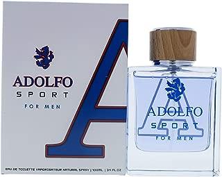 Adolfo Dominguez Adolfo Sport By Adolfo Dominguez for Men - 3.4 Oz Edt Spray, 3.4 Oz