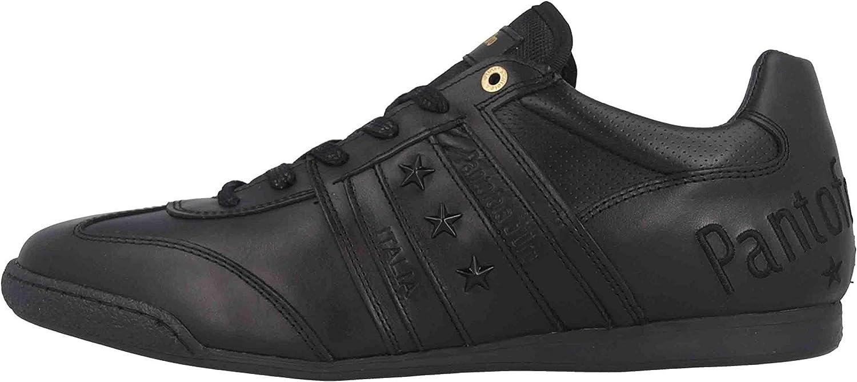 Pantofola d'Oro Imola Classic Uomo Low, Scarpe da Ginnastica Basse Nero Black 25y