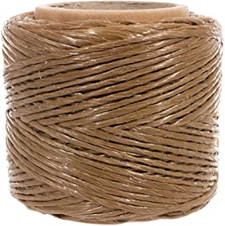 Polypropylene Value Twine, Tan, 200 Feet - Great for DIY Crafts, Bundling, and Packaging