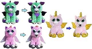 Feisty Pets Mystic Mischief 3-Pack: Dragon, Pegasus, Winged Unicorn