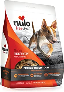Nulo Freeze Dried Raw Dog Food for All Ages & Breeds: Natural Grain Free Formula with Ganedenbc30 Probiotics for Digestive...