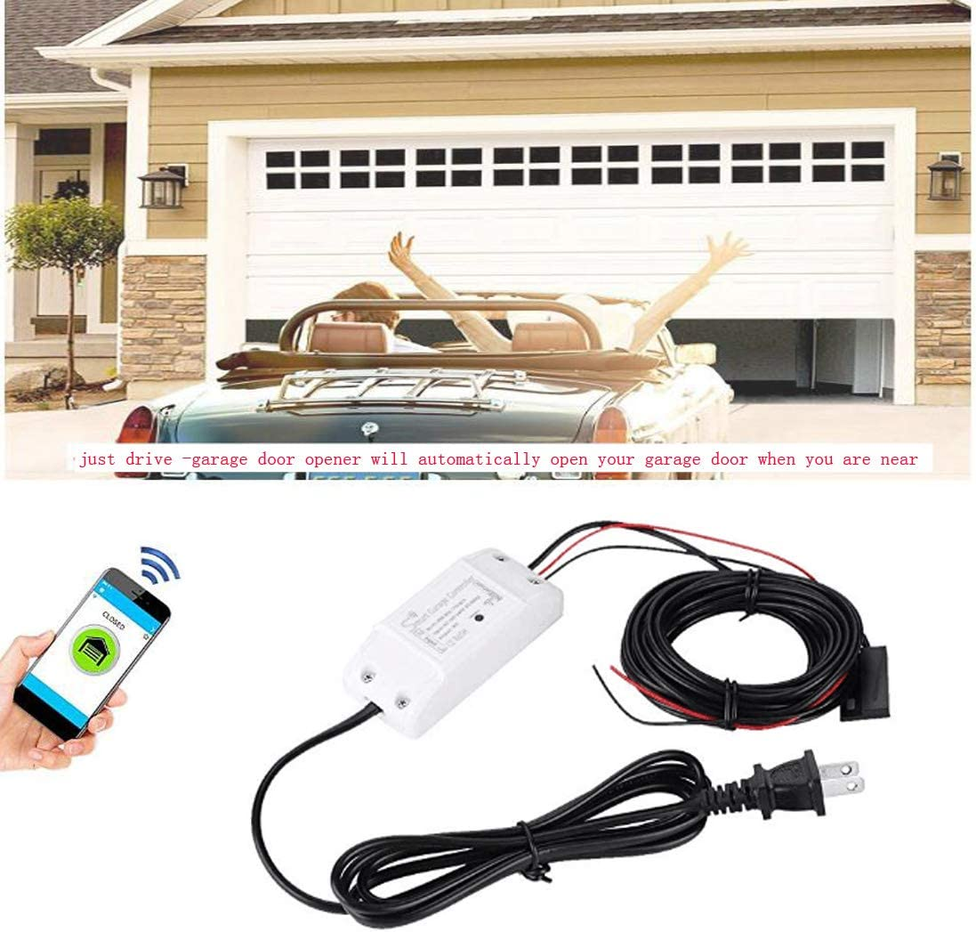 Smart Wi-Fi Alexa Garage Online limited product Door Remote Phone Openers Today's only control