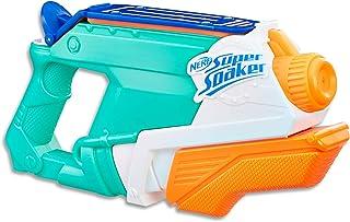 NERF Super Soaker - Splash Mouth Water Blaster - Blast & Dump Fast Fill - Kids Toys & Outdoor Games - Ages 6+