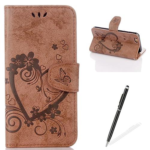 c1ce53dcadd7 iPhone 6S Cartoon Wallet Case: Amazon.co.uk