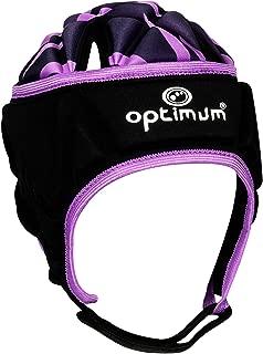 Optimum Razor Adult Rugby League Union Headguard Scrum Cap Black/Purple