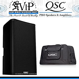 QSC K10.2 10-Inch 2000W Powered Speaker with Tote Bag