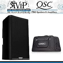 QSC K8.2 8-Inch 2000W Powered Speaker w/ Tote Bag