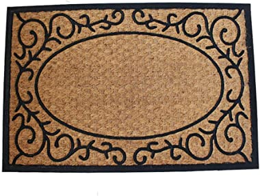 India Imported Coconut Palm Mats Into The Hall to Wipe The Soil European Style Door Mat