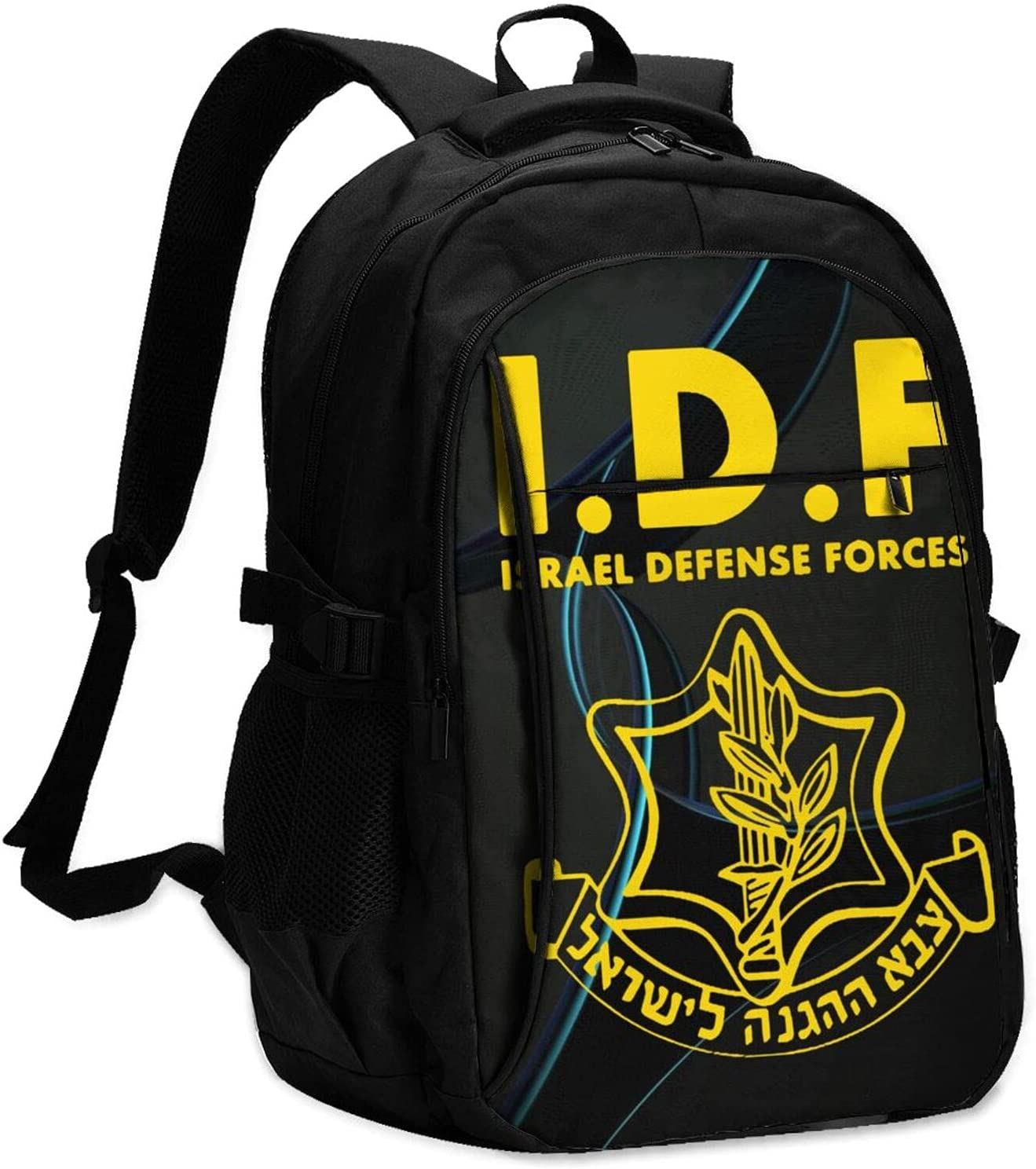 Idf Israeli Defense Force Cheap sale Stylish Backpack Usb College With Max 85% OFF Char