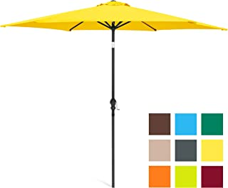 1949b01f81b76 Best Choice Products 10ft Outdoor Steel Market Patio Umbrella w/Crank, Tilt  Push Button