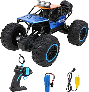 Beyoung RC Cars Off-Road Remote Control Car Trucks Vehicle 2.4Ghz 4WD Powerful Racing Climbing Cars Radio Electric Rock Cr...