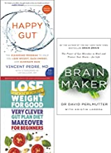 Happy gut, very clever gut diet and brain maker 3 books collection set
