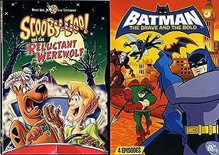 Scooby-Doo Werewolf Batman Brave Bold DVD Animated Movie bundle The Reluctant Werewolf