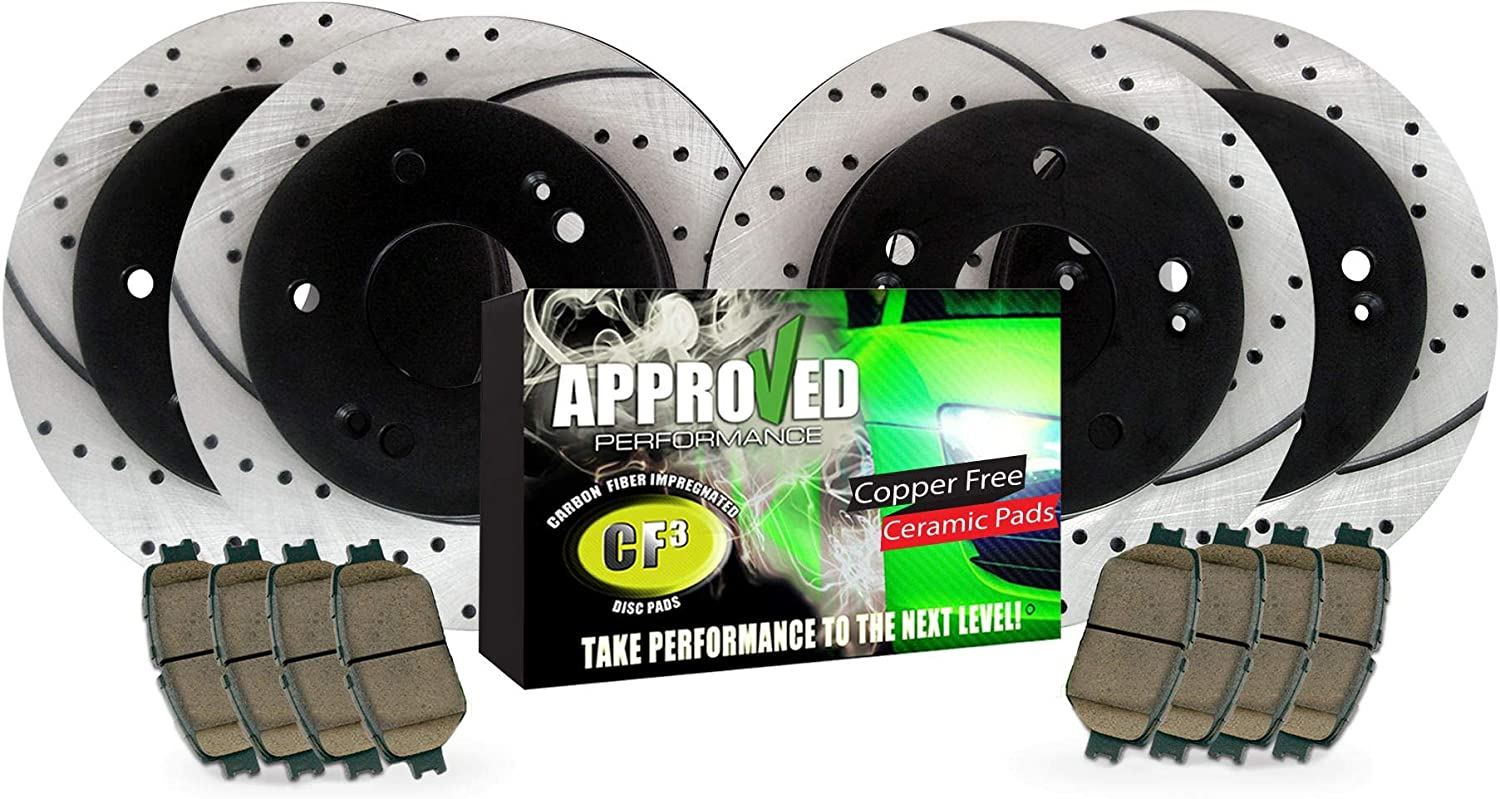 Approved Max 71% Recommended OFF Performance F16737-FRP Front D Drilled Rear Slotted