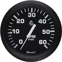 Faria 32804 Tachometer-6000 RPM, Euro