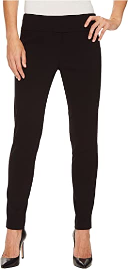 Elliott Lauren - Control Stretch Pull-On Ankle Pants with Back Slit Detail