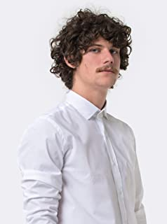 camisa manga longa pima elastano