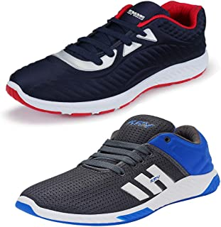 Shoefly Men's Multicolor Combo Pack of 2 and Elegant Casual Wear Canvas Running Shoes