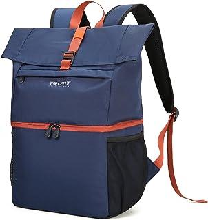 TOURIT Mochila enfriadora, 25 L, con compartimento para portátil de 15.6 pulgadas, mochila de doble capa para hombres y mujeres para trabajar, negocios, camping, senderismo