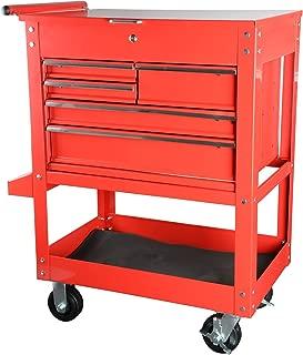 JEGS 81411 5-Drawer Tool Box Cart