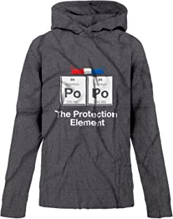BSW Youth Girls Po Po The Protection Element Periodic Cop Police Hoodie